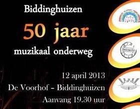 50 jaar biddinghuizen Jubileumconcert 50 jaar Biddinghuizen | Kunstenaars Vereniging  50 jaar biddinghuizen